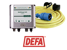 Defa har smarte løsninger for industri- og anleggsmaskiner.