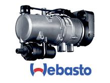 Webasto varmesystem passer godt til industri- og anleggsmaskiner.
